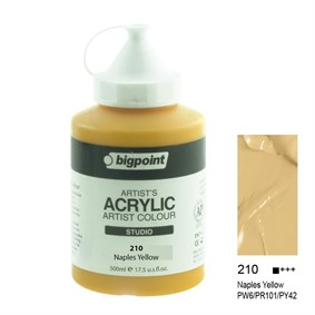 Bigpoint Akrilik Boya 500 ml Naples Yellow 210