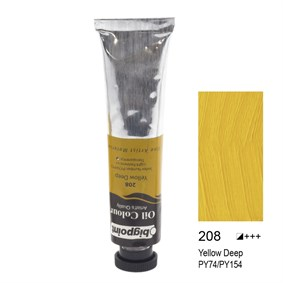 Bigpoint Yağlı Boya 45 ml Yellow Deep 208